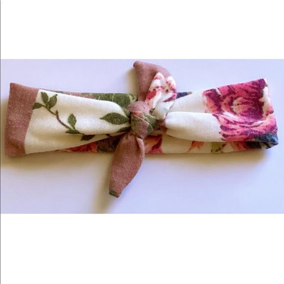 Floral Knit headband